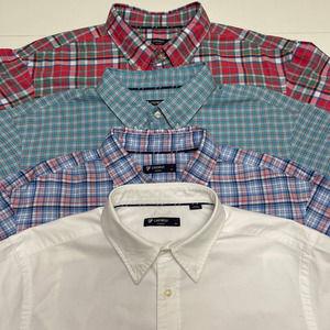 Cremieux Men's Dress Shirts Lot /04 Shirts XLT/XXL
